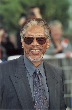 Morgan Freeman. (Photo Éric Bruneval © Patrimoine Normand).