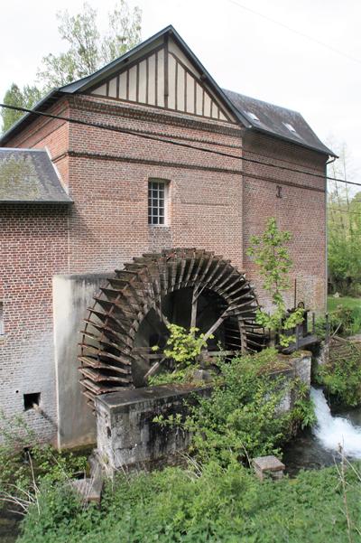 La roue sera restaurée par les élèves du lycée professionnel Augustin-Boismard (© Virginie Michelland).