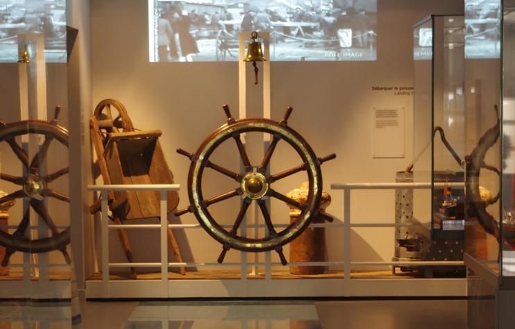 Intérieur du musée de Pêcherie de Fécamp (© SWG).