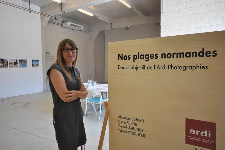 Nathalie Montigné - Directrice du Pavillon, Caen (Photo Rodolphe Corbin © Patrimoine Normand).