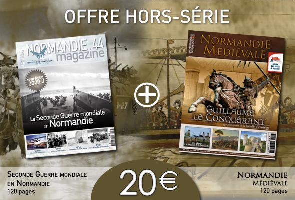 normandie medievale + seconde guerre mondiale en normandie