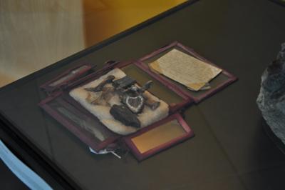 Exposition « la Société historique et archéologique de l'Orne - 150 ans de collections, 8000 ans d'histoire » aux archives de l'Orne - Alençon (Photo Rodolphe Corbin © Patrimoine Normand).