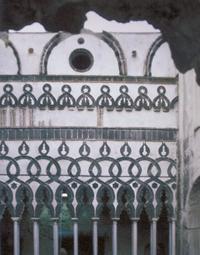 Villa Rufolo, Ravello, cour de la villa de style mauresque, XIIIe siècle. (© Simona Talenti.)