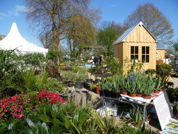 Le salon « Passionnément Jardin » à Honfleur