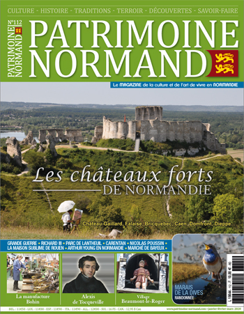 Patrimoine Normand 112 - châteaux forts en Normandie