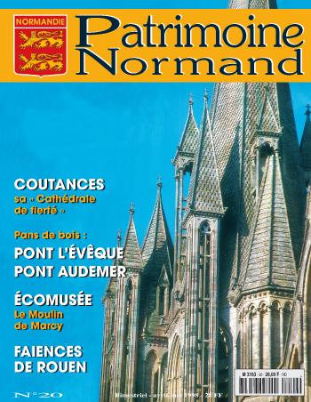 Patrimoine Normand n°20 (Avril-Mai 1998). En kiosque à partir du 30 mars 1998 - 68 pages. Magazine bimestriel.