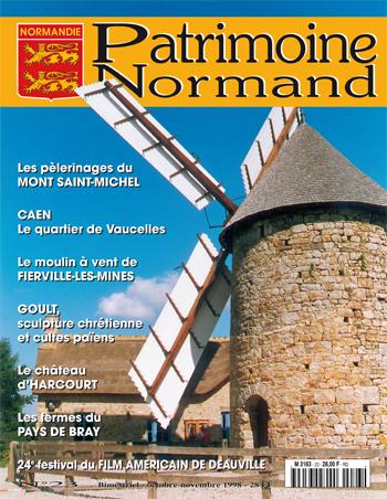 Patrimoine Normand n°23 (Octobre-Novembre 1998). En kiosque à partir du 30 septembre 1998 - 68 pages. Magazine bimestriel.