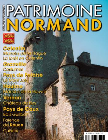 Patrimoine Normand n°46 (mai-juin-juillet 2003). En kiosque à partir du 30 avril 2003 - 84 pages. Magazine trimestriel.