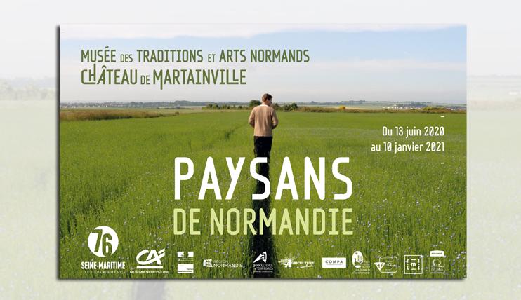 Exposition « Paysans de Normandie » au château de Martainville