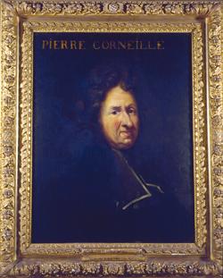 Portrait de Pierre Corneille par François Sicre. (© DPT 76.)