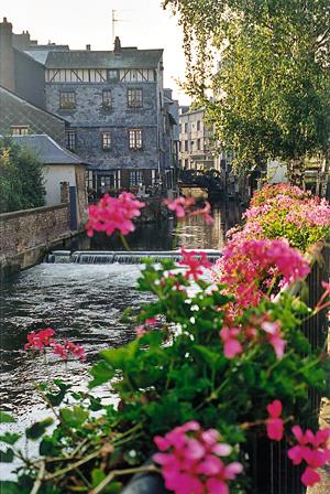 Pont-Audemer. (Photo Carole Hérin © Patrimoine Normand).