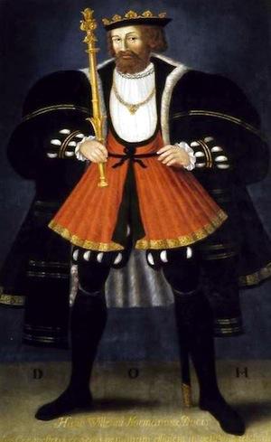 Portrait de Guillaume par St-Martin de Fontenay, huile sur bois de 1708, copie présumée de celui qui a été peint en 1522 et détruit quarante ans plus tard. (photo Henri Gaud, avec laimable autorisati