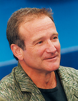 Robin Williams. (Photo Eric Bruneval © Patrimoine Normand.)