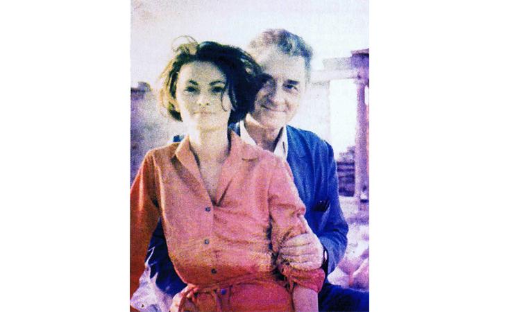 Ruda et Claude Dauphin
