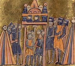 Juin 1097, le siège de Nicée - les Turcs préférèrent se rendre à l'armée byzantine plutôt qu'aux croisés. (DR)