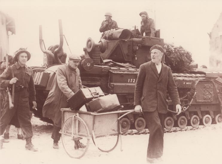 Les civils pendant la bataille de Normandie