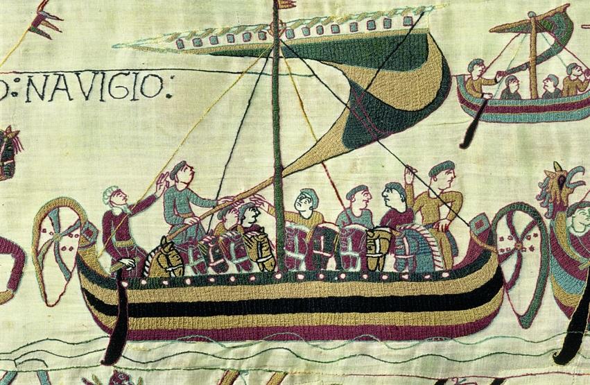 Bateau type nordique (Tapisserie de Bayeux)