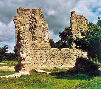 Ruines spectaculaires des thermes d'Alauna. (Photo Éric Bruneval © Patrimoine Normand).