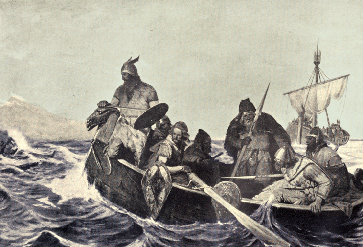 Les Vikings explorent le monde